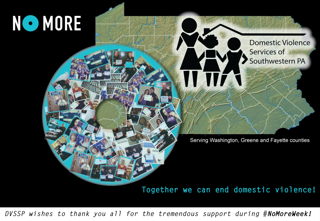 #TogetherWeCan end domestic violence!